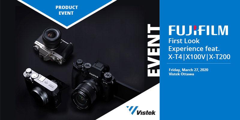 Fujifilm First Look Experience feat. X-T4, X100V & X-T200 - Vistek Ottawa