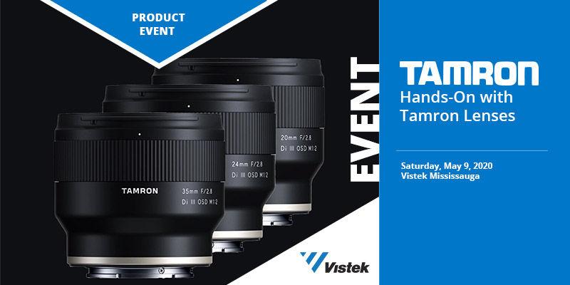 Hands-On with Tamron Lenses at Vistek Mississauga