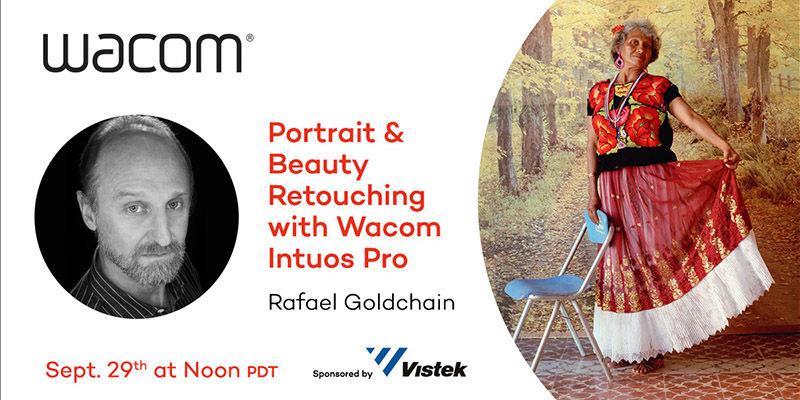 Wacom presents Rafael Goldchain - September 29, 2021