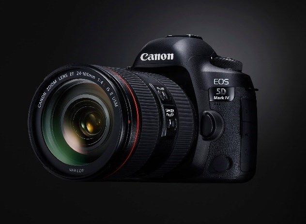 Canon EOS 5D Mark IV with EF 24-70mm Item Details
