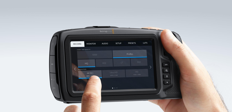 Rent Blackmagic Design Pocket Cinema Camera 4K HiDef Camcorders Prosumer  Canada
