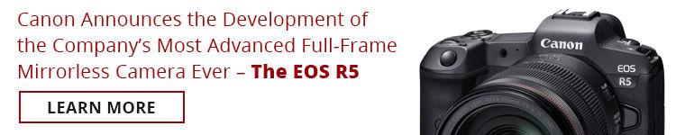 Canon EOS R5 in Canada