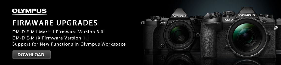 Olympus OM-D E-M1 Mark II Mirrorless Black Body V207060BU000