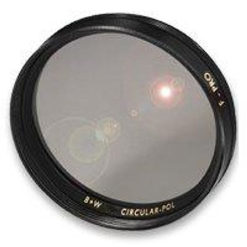 62mm Circular Polarizing Glass Screw In Filter