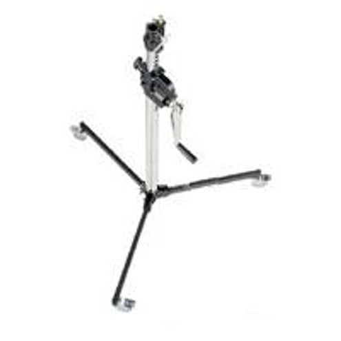 083NWLB Low Base Wind Up Stand with Braked Wheels