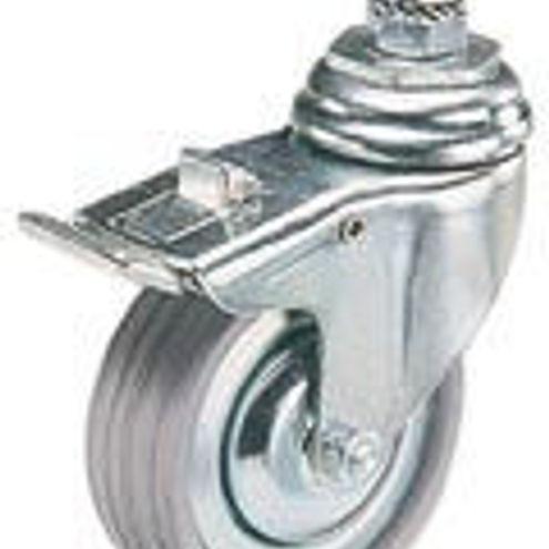 104 Wheel Set 80mm Diameter with Brakes