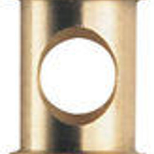 """118 Short 5/8"""" Spigot with 1/4"""" and 3/8"""" Thread"""