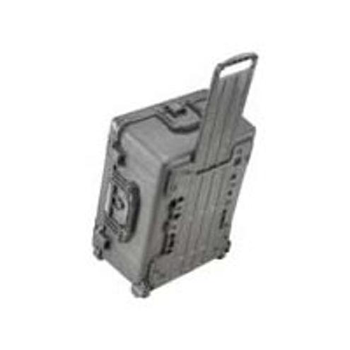 1610 Case Black w/Foam w/Retractable Handle & Wheels
