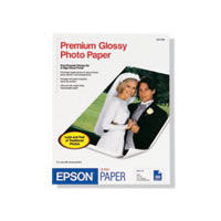 "11""x14"" Premium Glossy Borderless Photo Paper - 20 Sheets"