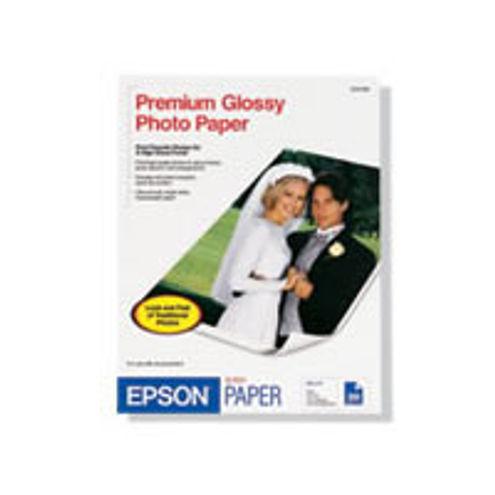 "11""x14"" Premium Glossy Borderless Photo Paper - 20 Sheets"