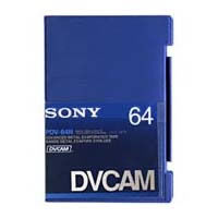 DVCAM Tapes