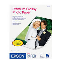 "8.5""x11"" Premium Glossy Photo Paper - 50 Sheets"