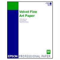 """8.5""""x11"""" Velvet Fine Art Paper - 20 Sheets"""