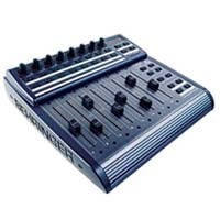 BCF2000 Total Recall USB/MIDI Controller Desk with 8 Motorized Faders - Black