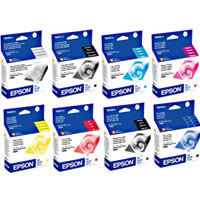 R800/R1800 Ink Set with Gloss Optimizer 8 Cartridges