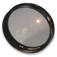 72mm Circular Polarizing Multi-Resistant Coating (MRC) Glass Screw In Filter