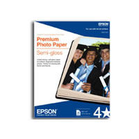 "4""x6"" Premium Semi-Gloss Photo Paper - 40 Sheet"