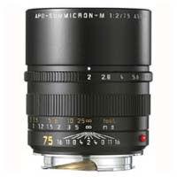 75mm f/2.0 ASPH APO-Summicron- M Black Lens (E49)