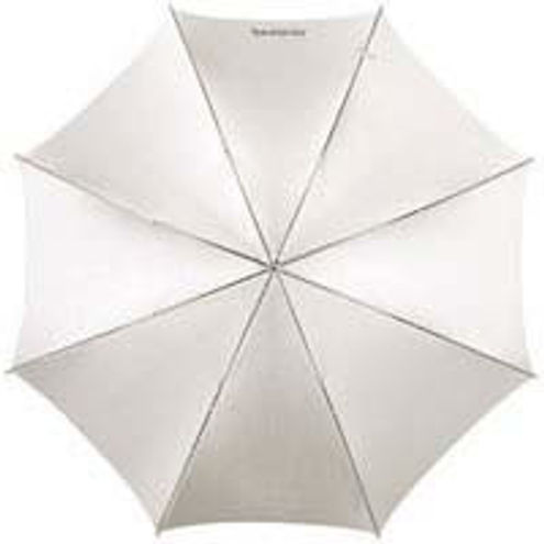 """32"""" Optical White Satin with Removable Blk Cover 8mm Shaft"""