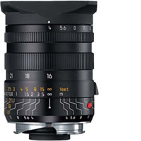 16-18-21mm f/4.0 ASPH Tri-Elmar-M Black Lens w/ Universal Finder-M