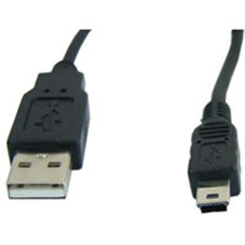 6' USB Cable A To Mini USB 5-Pin USB 2.0