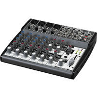 Premium 12-Input 2-Bus Mixer with XENYX Mic Preamps and British EQs