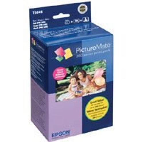 PictureMate 200 Series Print Pack - Glossy includes all you need for about 150 glossy photos