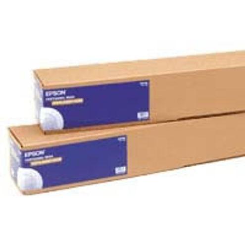 """60""""x100' Proofing Paper White White Semi-Matte - Roll"""