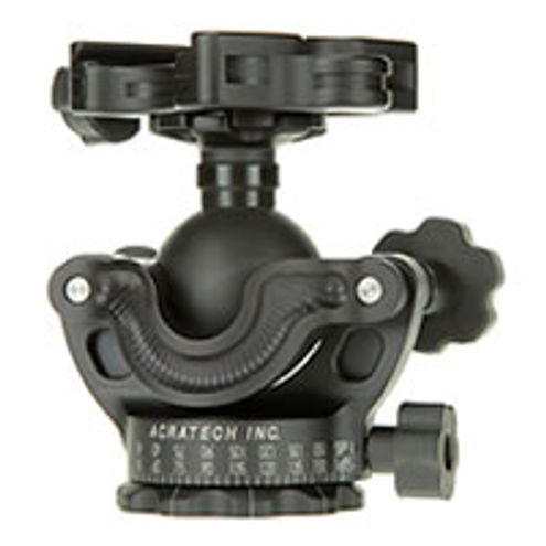GP-s Ball Head all Rubber Knob QR w/ Detent and Level