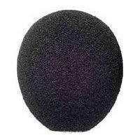 A99WS High Performance Ball Foam Windscreen for Microflex Gooseneck Microphones - Black