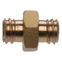 "Male 3/8"" - Male 3/8"" Hex Adapter"