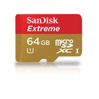 Extreme 64GB Micro SDXC UHS-1