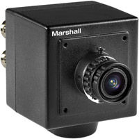 CV502-2.5MP HDSDI Mini- Broadcast Camera with 3.7mm HD Prime Lens - Power Supply Included