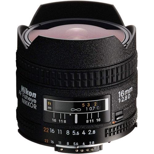 AF Fisheye-NIKKOR 16mm f/2.8 D Lens
