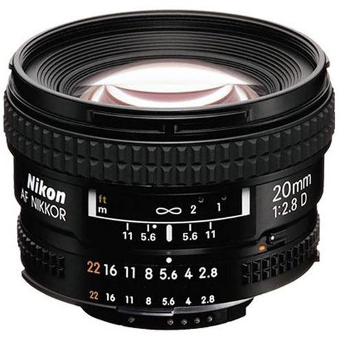 AF NIKKOR 20mm f/2.8 D Lens