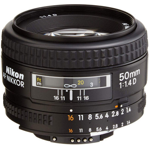 AF NIKKOR 50mm f/1.4 D Lens