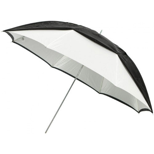 """45"""" Optical White Satin with Removable Blk Cover 8mm Shaft"""