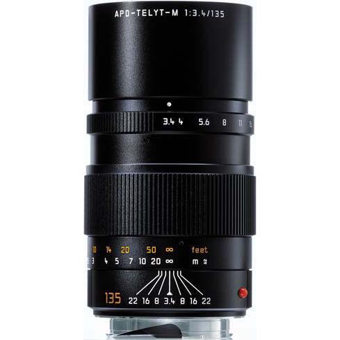 135mm f/3.4 APO-Telyt-M Black Lens (E49)