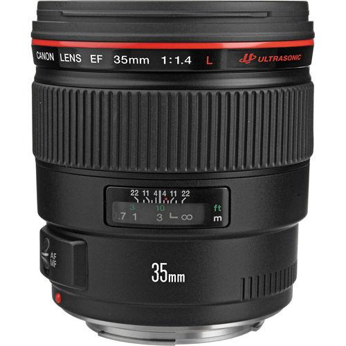 EF 35mm f/1.4 L USM Wide Angle Lens