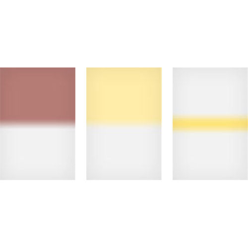 100x150mm Sunrise Graduated Resin Drop In Filters Set Includes Mahogany 1, Straw 2, and Straw Stripe