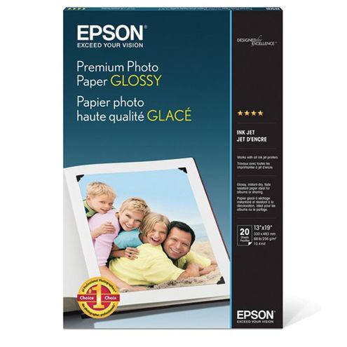 "13""x19"" Premium Glossy Photo Paper - 20 Sheets"
