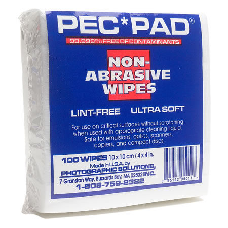 PECPAD Lintfree Photo Wipe 9x9 25 Sheets