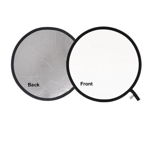 50cm Reflector Silver/White
