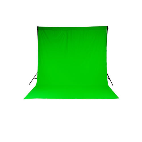 ChromaKey Green (3x3.5m) Curtain Background