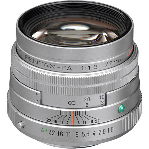 smc FA 77mm f/1.8 - Silver
