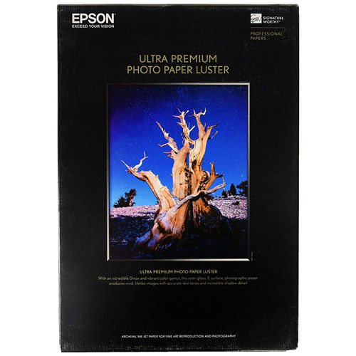 "8.5""x11"" Ultra Premium Luster Photo Paper - 50 Sheets"