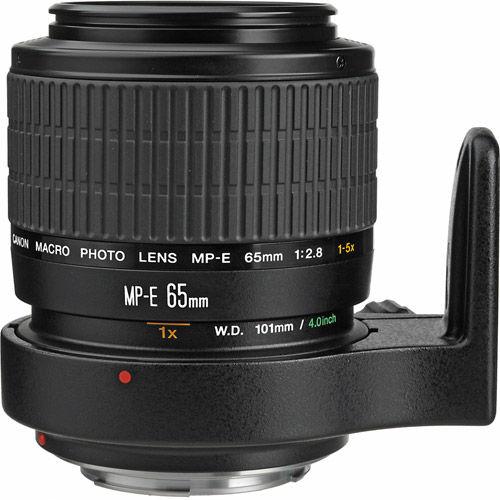 MP-E 65mm f/2.8 1-5x Macro Lens
