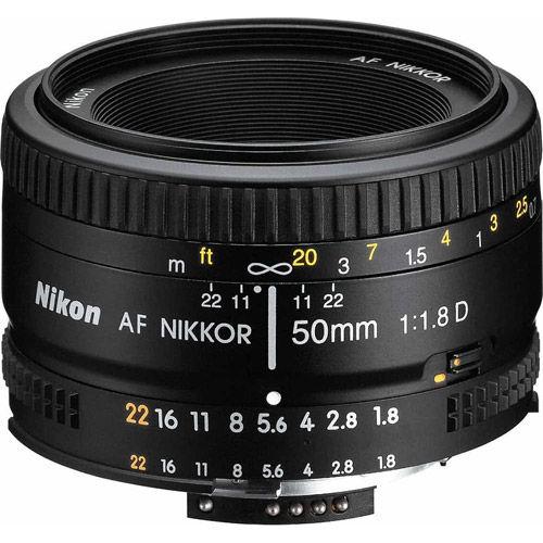 AF NIKKOR 50mm f/1.8 D Lens