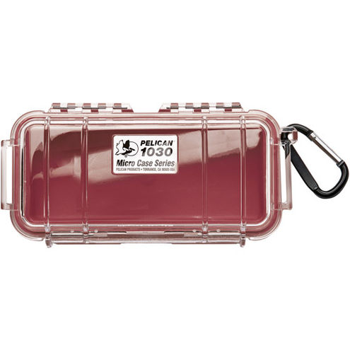 1030 Micro Case Red/Clear