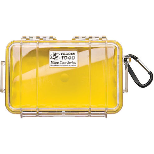 1040 Micro Case Yellow/Clear